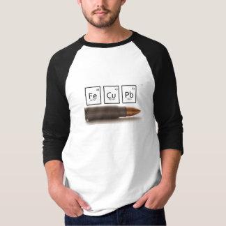 Camiseta Bala periódica
