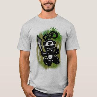 Camiseta Balançar-Bambu-Panda-Estilo