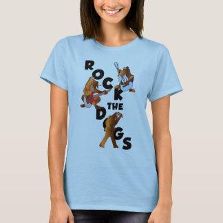 Camiseta Balance o T da boneca dos cães