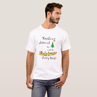 Camiseta Balanço em torno da árvore de Natal