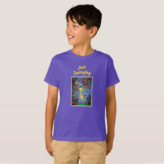 Camiseta Balanço no t-shirt do primavera
