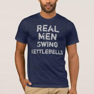 Camiseta Balanço real Kettlebells dos homens