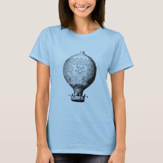 Camiseta Balão de ar quente do vintage de Montgolfier