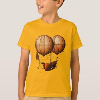 Camiseta Balão de ar retro de Steampunk do vintage com