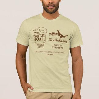 Camiseta Balde de leite - fazenda da pena de Fin'n, Dundee,