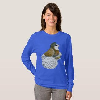 Camiseta Baldhead do pombo AOC da trompetista