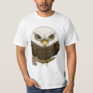 Camiseta Baldwin a águia americana bonito a8684d7105f3b
