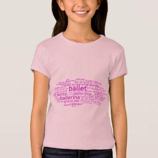 Camiseta Balé Wordle