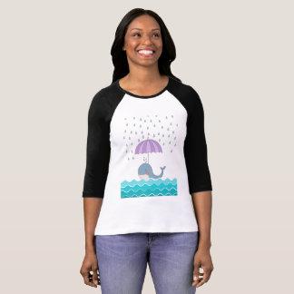 Camiseta Baleia da natação