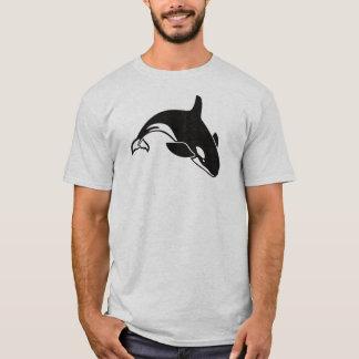 Camiseta Baleia de assassino da orca da natação