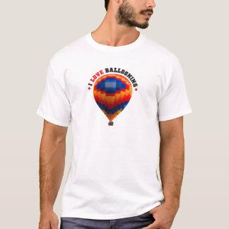 Camiseta Ballooning do balão de ar quente