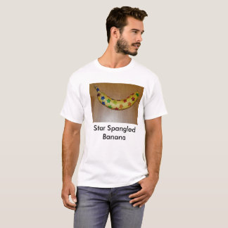 Camiseta Banana star spangled de Punstructions