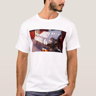 Camiseta Banco coberto de neve