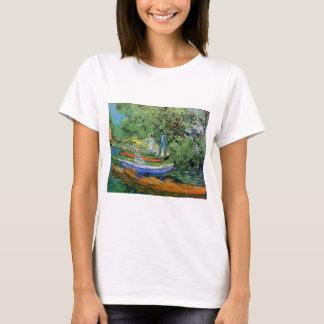 Camiseta Banco de Van Gogh de Oise em Auvers, belas artes