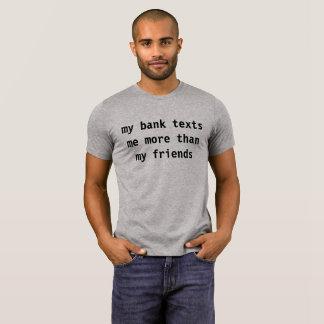 Camiseta banco dos obrigados