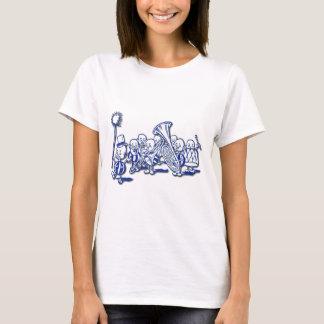 Camiseta Banda da brownie que joga a tuba e o Trombone
