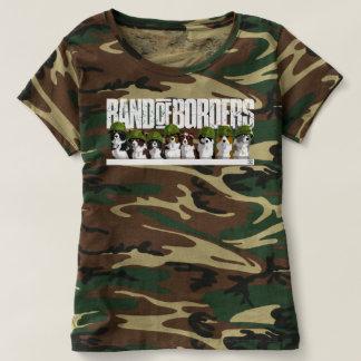 Camiseta Banda das beiras - camuflagem