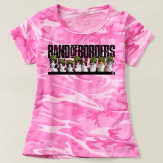 Camiseta Banda das beiras - camuflagem cor-de-rosa
