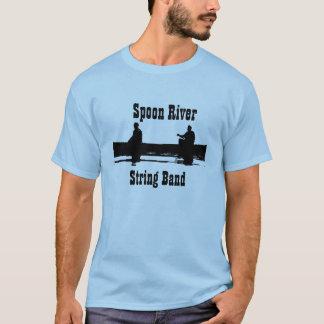 Camiseta Banda de corda do rio da colher