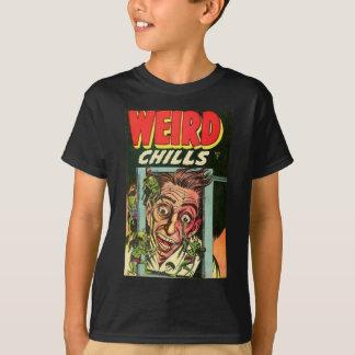Camiseta Banda desenhada estranha dos frios