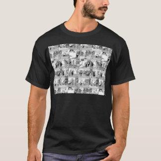Camiseta Banda desenhada velha