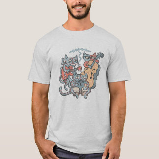 Camiseta Banda Hep do gato