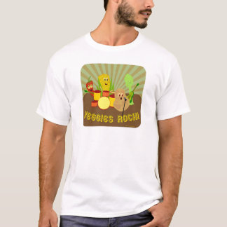 Camiseta Banda impressionante do vegetariano!