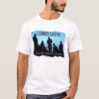 Camiseta Banda T do terreno comum