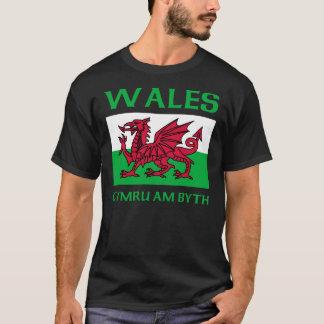 Camiseta Bandeira 2 de Wales