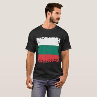 Camiseta Bandeira abstrata de Bulgária, bandeira búlgara do