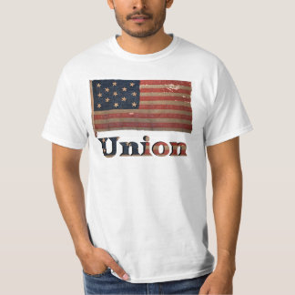 Camiseta Bandeira afligida 2 da guerra civil de exército de