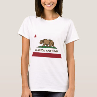 Camiseta bandeira alameda de Califórnia