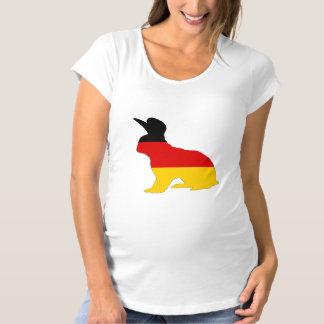 Camiseta Bandeira alemão - coelho