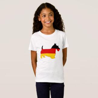 Camiseta Bandeira alemão - terrier escocês