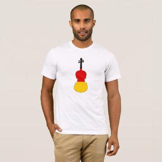 Camiseta Bandeira alemão - viola