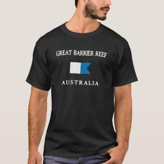 Camiseta Bandeira alfa do mergulho de Austrália do grande