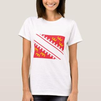 Camiseta Bandeira Alsácia (France) Drapeau Alsácia Flagge