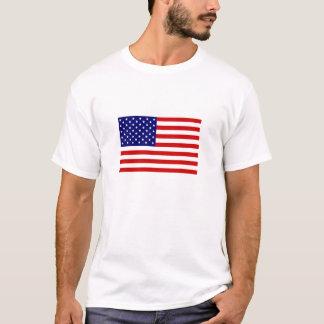 Camiseta Bandeira americana, a garantia