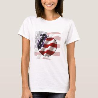 Camiseta Bandeira americana Apple