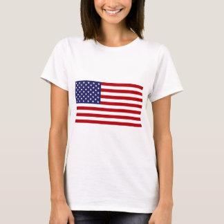 Camiseta Bandeira americana - bandeira dos Estados Unidos -