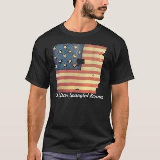 Camiseta Bandeira americana com 15 estrelas - bandeira star