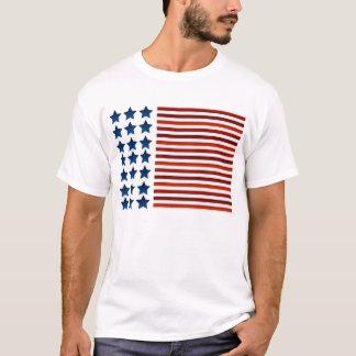 Camiseta Bandeira americana corajosa