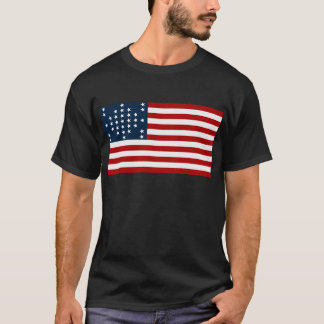 Camiseta Bandeira americana da guerra civil de Sumter do