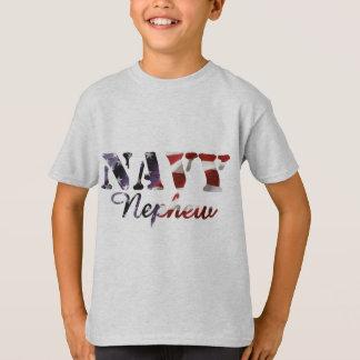 Camiseta Bandeira americana do sobrinho do marinho