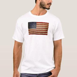 Camiseta Bandeira americana velha