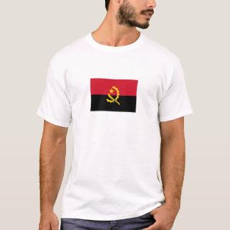 Camiseta Bandeira angolana patriótica