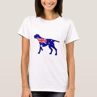 Camiseta Bandeira australiana - Coonhound de Redbone