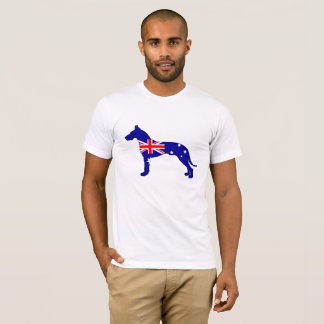 Camiseta Bandeira australiana - great dane