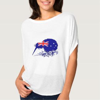 Camiseta Bandeira australiana - pássaro do quivi