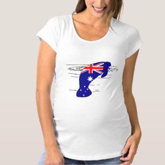 Camiseta Bandeira australiana - peixe-boi